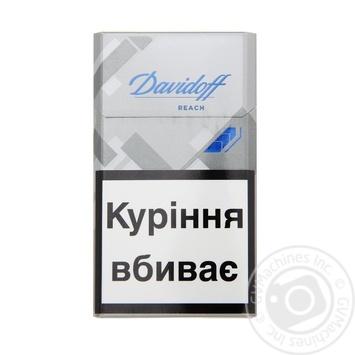 Цигарки Davidoff Reach 20шт - купити, ціни на Novus - фото 1