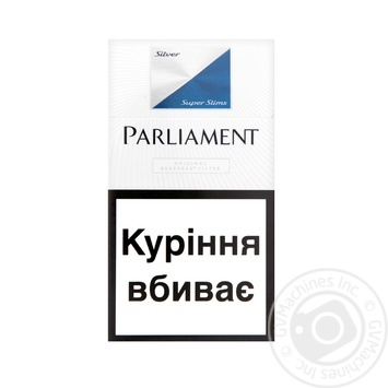 Сигареты Parliament Super Slims Silver 20шт