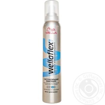 Пена Веллафлекс экстра сильная фиксация для волос 200мл - купить, цены на ЕКО Маркет - фото 1