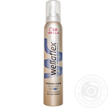 Пена Веллафлекс Объем до 2-х дней для волос 200мл - купить, цены на МегаМаркет - фото 1