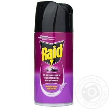 Аэрозоль Raid Лаванда против летающих и ползающих насекомых 300мл - купить, цены на Novus - фото 1