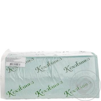 Полотенце бумажное Кохавинка Z-Z 200 листов цвет в ассортименте - купить, цены на МегаМаркет - фото 2