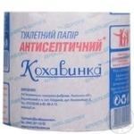 Туалетная бумага Кохавинка Антисептическая 8шт - купить, цены на Novus - фото 2