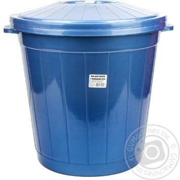 Tank Al-plastic plastic for garbage 35000ml - buy, prices for Furshet - image 1