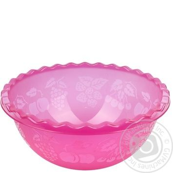 Таз Ал-Пластик №1 для фруктов 3.5л - купить, цены на Метро - фото 1