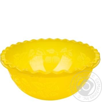 Таз Ал-Пластик №3 для фруктов 9л - купить, цены на Метро - фото 1