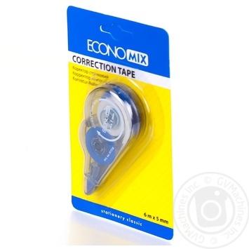 Корректор-ленточный Economix 5мм*6м - купить, цены на Ашан - фото 4