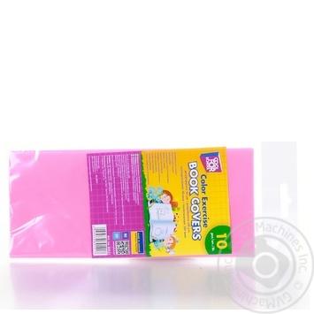 Обкладинки Cool For School для зошитів кольорові 10шт - купити, ціни на Метро - фото 6