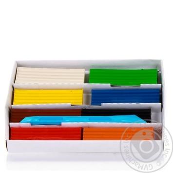 Пластилін ZiBi 8 кольорів 200г - купити, ціни на CітіМаркет - фото 3