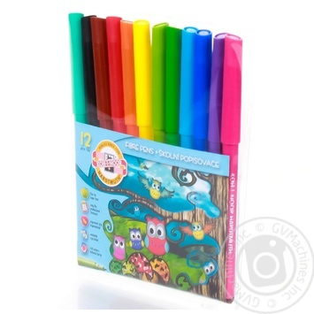 Koh-i-noor Set of markers 12pcs - buy, prices for Auchan - image 3