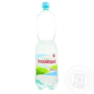 Мінеральна вода Трускавецька природна столова негазована 1500мл - купити, ціни на Novus - фото 2