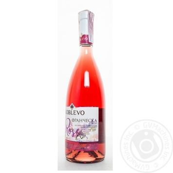 Вино Коблево Франческа Розе розовое полусладкое 13% 0,7л - купить, цены на Фуршет - фото 4