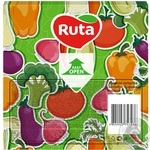 Салфетки Ruta Art Кухня Микс двухслойные 33х33см 20шт в ассортименте - купить, цены на ЕКО Маркет - фото 7