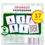 Набір карток Сова Професії - купити, ціни на Ашан - фото 3