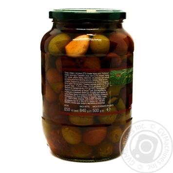 Асорті оливок з овочами Feudo Verde 840г - купити, ціни на Novus - фото 2