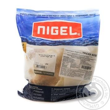 Тріска філе без шкіри та кісток NIGEL ваг - купить, цены на Novus - фото 1
