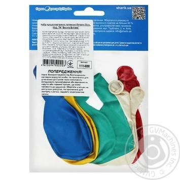 Набор шариков Веселая Затея Металлик латексные 25см 10шт - купить, цены на Ашан - фото 2