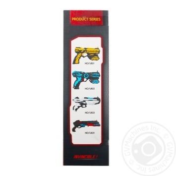 Іграшкова зброя Бластер 10-зарядний Арт. FJ831 - купить, цены на МегаМаркет - фото 3
