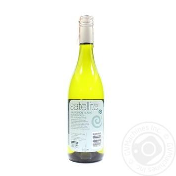 Вино Satellite Sauvignon Blanc біле сухе 13% 0,75л - купити, ціни на CітіМаркет - фото 2