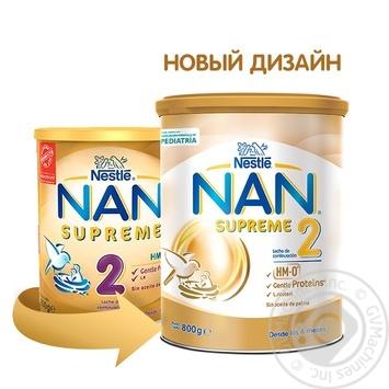 Суміш дитяча Nestle NAN Supreme 2 800г - купити, ціни на Novus - фото 5