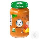 Рагу Gerber із індички з рисом з кусочками для дітей з 12 місяців 190г - купити, ціни на ЕКО Маркет - фото 2