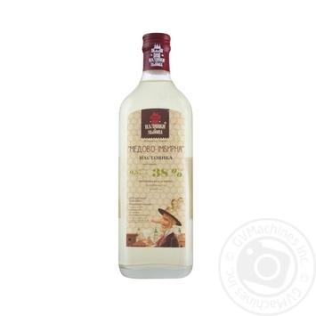 Nalyvka zi Lvova Honey-ginger tincture 38% 0,5l - buy, prices for Novus - image 1