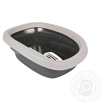 Туалет Trixie Carlo для котів з лопаткою 43х31х14см