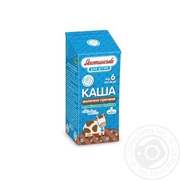 Каша Яготинське молочно-гречневая 200г - купить, цены на Ашан - фото 1
