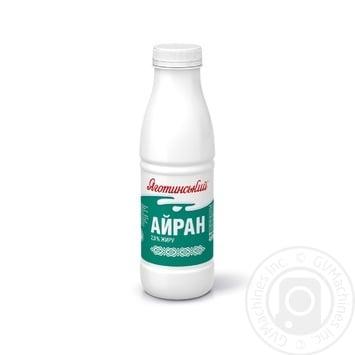 Напиток кисломолочный Яготинское Айран 2% 450г - купить, цены на Фуршет - фото 1
