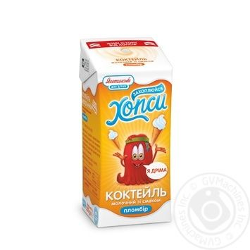 Cocktail Yagotynske for children milky uht 2.5% 200g tetra pak Ukraine - buy, prices for MegaMarket - image 1