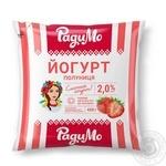 Йогурт РадиМо Полуниця 2% 400г