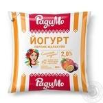 Йогурт РадиМо Персик-Маракуйя 2% 400г