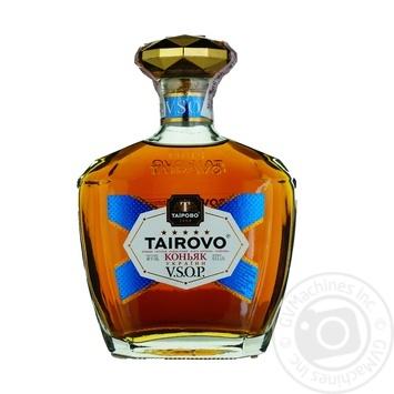 Коньяк Tairovo V.S.O.P. 5 звезд 40% 0,5л