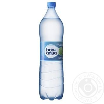 BonAqua mineral water non-carbonated 1,5l - buy, prices for MegaMarket - image 1