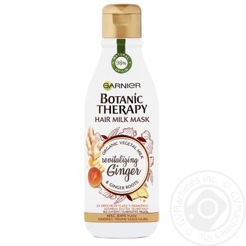 Маска-молочко Garnier Botanic Therapy Імбирне відновлення  для виснаженого та тонкого волосся 250мл - купити, ціни на Novus - фото 4