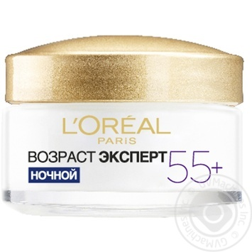 L'Oreal Dermo Expertise Trio Active Age Expert repairing anti-age care 55+  Night Cream - buy, prices for Novus - image 6