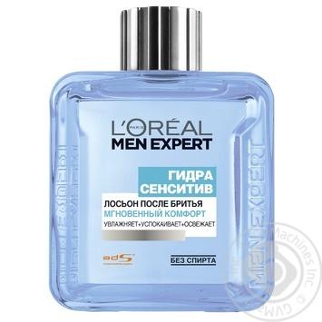 Лосьйон після гоління L'oreal Paris Men Expert Гідра Сенситів Миттєвий Комфорт 100мл - купити, ціни на Novus - фото 2