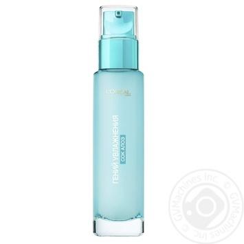 Гель L'Oreal Аква-флюїд денний для нормальної шкіри та шкіри схильної до сухості 70мл - купити, ціни на Novus - фото 3