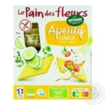 Хлебцы Le Pain des fleurs с луком органические безглютеновые 150г - купить, цены на Ашан - фото 3
