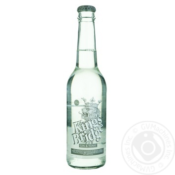 Kings Bridge Drink low-alcohol gin and tonic  7% 0.33l - buy, prices for Novus - image 1