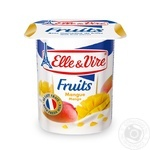 Десерт Elle & Vire Манго молочный 1,5% 125г