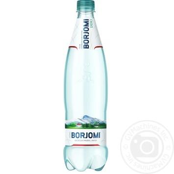 Вода Borjomi минеральная сильногазированная 0,75л - купить, цены на Novus - фото 1