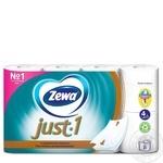 Туалетная бумага Zewa Just 1 4 слоя 8шт - купить, цены на МегаМаркет - фото 2
