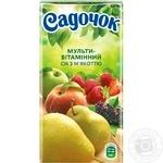 Sadochok multivitamin juice 0,5l - buy, prices for Novus - image 3