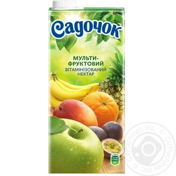 Нектар Садочок Мультифрукт Slim 0.95л - купить, цены на Фуршет - фото 4