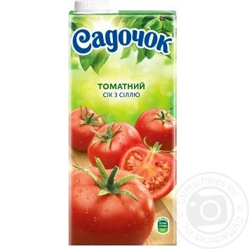Sadochok tomato juice with salt 0,95l - buy, prices for Furshet - image 3
