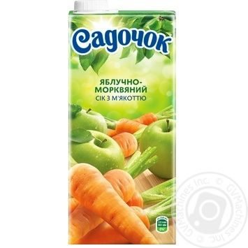 Sadochok Apple-carrot Juice 0.95l - buy, prices for Novus - image 4