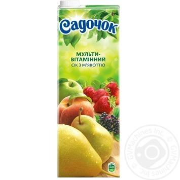 Sadochok multivitamin juice 1,45l - buy, prices for Novus - image 3