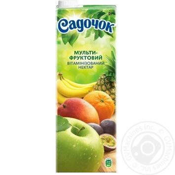 Нектар Садочок мультифруктовый 1,45л - купить, цены на Novus - фото 3