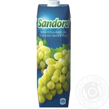 Сік Sandora Виноград 950мл - купити, ціни на Метро - фото 3